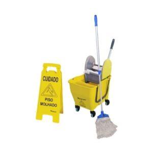 Kit 1 de Limpeza Profissional Amarelo – Bralimpia